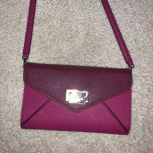 Maroon Kate Spade Purse/wallet